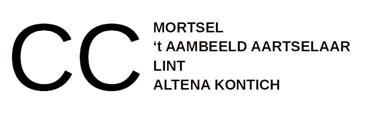 Mortsel CC i.s.m. CC 't Aambeeld Aartselaar en Gemeenschapscentrum Kontich logo