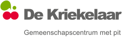Schaarbeek GC De Kriekelaar i.s.m. 1030cultuur logo